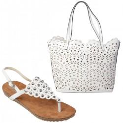 Set sandale (36) cu geanta LALU Samantha/Peggy